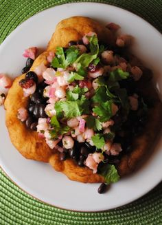 osage fry bread taco 2 Tocabes Osage Inspired Frybread Tacos recipes food culture creative  Sweet Life Native / American Indian American Indian Heritage