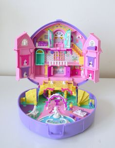 Pollypocket  Polly's wonderfull wedding party  , 1994, coeur violet mariage ,3 personnages de la boutique atelierdelachoisille sur Etsy