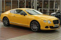 Bentley Testdrive Car Event at Munich Airport – Continental GT Speed 2012 - Munich/ München, Germany/Deutschland