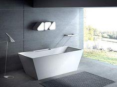 Carver Tubs - Kaskade Freestanding - Wave Sound Bluetooth Speaker System - Soaking Bathtub x - White Acrylic (Chrome Drain/Overflow) Deep Bathtub, Drop In Bathtub, Bathtub Shower, Tub Faucet, Freestanding Bathtub, Cheap Bathtubs, Best Bathtubs, Soaking Bathtubs