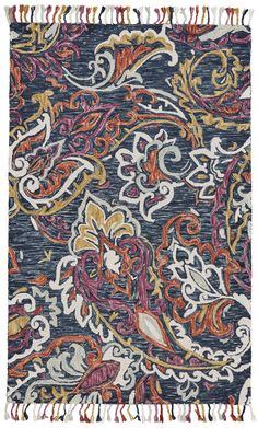 Feizy Abelia 8672F Orchid/Blue Area Rug