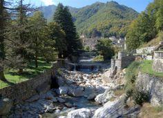 River Cervo in Rosazza (Biella, Italy)