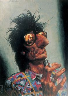 Ronnie Wood by Sebastian Kruger