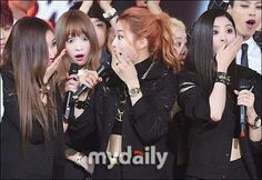 Ah Yeah's First Win is Met with Surprise from EXID!  Who seems most surprised by the win?  *From the largest mobile Kpop Community.  #KPop #EXID  http://aminoapps.com/p/dgxbb