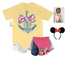 """""""Day 2-Magic Kingdom"""" by preppysisters101 ❤ liked on Polyvore featuring NIKE, Kavu, Casetify, Disney, Fitbit and adevodisneytrip"""