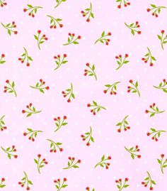 Patty Young Premium Quilt Fabric- Floret Pink