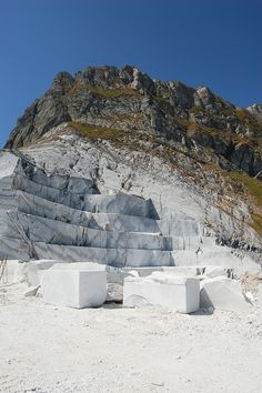 Estrazione del marmo ... Alpi Apuane