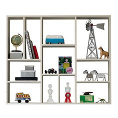 Woood Vtwonen Wall Shelf with 11 Compartment Plant Shelves, Wall Shelves, Shelving, Shelf, Colorful Furniture, Coastal Decor, Great Deals, Wood Art, Home Furnishings