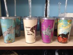 Eco friendly cool cups $19.95 www.ponyupequestrian.com Barware, Eco Friendly, Cups, Cool Stuff, Gifts, Mugs, Favors, Bar Accessories, Presents