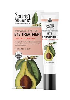 Enter to Win 1 of 10 Renewing & Cooling Eye Treatment With Avocado + A – Nourish Organic