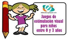 A continuación veremos algunos juegos de estimulación visual para niños entre 0 y 3 años. 4 juegos de estimulación visual para niños para trabajar en clase