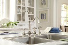 Danze Opulence two handle bridge faucet