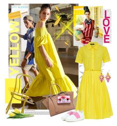 """""""***YELLOW SUNSHINE***"""" by mariapia65 ❤ liked on Polyvore"""
