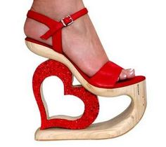 HIGH heart heels ☮★ DiamondB! Pinned ★☮