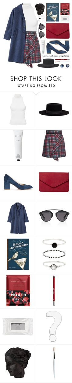 """""""check ruffle mini skirt"""" by jesuisunlapin ❤ liked on Polyvore featuring Hunza G, Janessa Leone, Rodin Olio Lusso, MSGM, Maryam Nassir Zadeh, Dorothy Perkins, Christian Dior, Tequila Mockingbird, Accessorize and Nannette de Gaspé"""