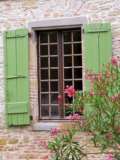 Overall cute! stone, shutters, all the colors