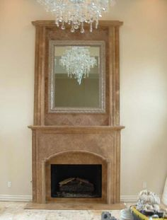 Old World Stone Imports Custom Travertine Fireplace Mantles Fireplace Mantles, Stone Fireplaces, Custom Fireplace, Floor Design, Travertine, Hearth, Old World, Design Projects, Kitchen Remodel