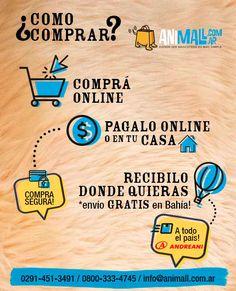 Como comprar online en Animall.com.ar.