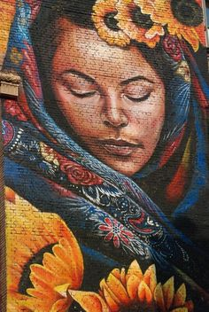Mural in Kiev by Mata Ruda