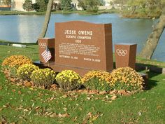 "Jesse Owens gravesite - OWENS (R) was a 4 Gold Medal Winner in the  1936  Summer Olympics held in Germany.-'Hitler didn't snub me. President Roosevelt did.""-J.Owens--Hitler sent a signed Photograph of himself to Owens. He didn't even get a telegram from  Pres. FDR. (D)-Truman (D) also refused to recognize his accomplishments. IT WASN'T UNTIL  Pres. Eisenhower(R) were his accomplishments recognized. Eisenhower honored Owens by naming him,""AMBASSADOR OR SPORTS."""