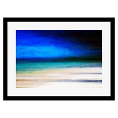 Paintings in Print - Storm Incoming Barra, Framed Print, 50x40cm | ACHICA