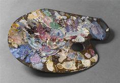 Gustave Moreau's palette