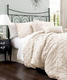 Echo Odyssey King Comforter Set | King comforter sets, King ... : ivory quilt set - Adamdwight.com