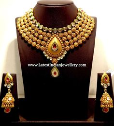 Bridal Jadau Necklace Set