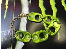 Monster Energy Drink Tab Top Bracelet by joolrylane on Etsy, $27.00 JoolryLane.Etsy.Com