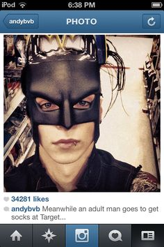 Ohh andy lol you have done this already yet you never seize to amaze ppl with your love for batman