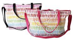 Iso Hattivatti kuosinen käsilaukku, 2 väriä!