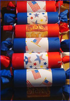 4th of July party crackers