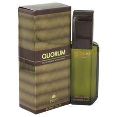 Antonio Puig Quorum Men's 1.7-ounce Eau de Toilette Spray, Black