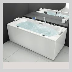 107818 6136199 VikingBad Vigen 180 Massasjebad Grunnmod x 90 x 70 cm Duravit, Corner Bathtub, Bathroom, Washroom, Full Bath, Bath, Bathrooms, Corner Tub