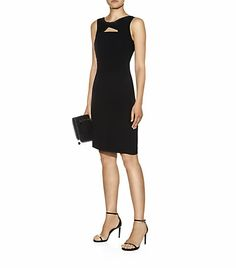 MaxMara Studio Sleeveless Knot Neckline Dress