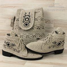 Обувь ручной работы. Ярмарка Мастеров - ручная работа. Купить Летние ботиночки и сумка ( комплект). Handmade. Бежевый