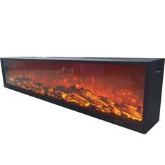 Touchstone Emblazon Series Frameless Built-in Electric Fireplaces (#80101,2,3,4,5)