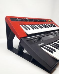 3DWaves Dual Tier Stands For The Yamaha Reface Synthesizers CS, DX, CP, and YC