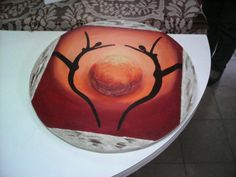 Pasta piedra y pintura
