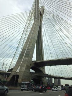 os ângulos da ponte ....