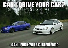 Lol reason i left loser that can't drive stick married to a man that can, no regerts no car jokes, car memes so true this girl is a car girl a Car Guy Memes, Car Jokes, Truck Memes, Car Humor, Funny Car Quotes, Truck Quotes, Funny Jokes, Stupid Funny, Racing Quotes