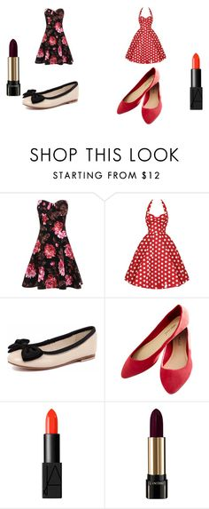 """""""picnic outfit"""" by asia-663 ❤ liked on Polyvore featuring Human Premium, Wet Seal, NARS Cosmetics and Lancôme"""