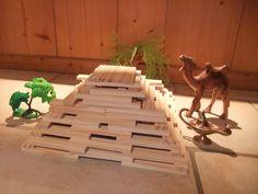 pyramides en jeux de construction