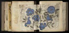 Book of Lanvin embroidered sample pieces 1925~Image © Patrimoine Lanvin. #Lanvin125 #Lanvin