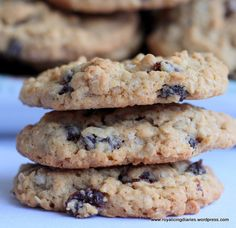 Delicious oatmeal raisin cookies