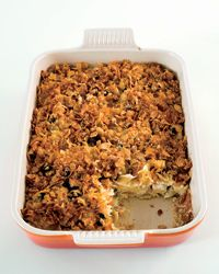 Sweet Noodle Kugel with Dried Cherries Recipe from Food & Wine - 2 cups of heavy cream!? So not good for you...but looks amazing!