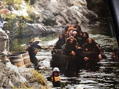 New pic of dwarves in barrels in Empire mag - #TheHobbit
