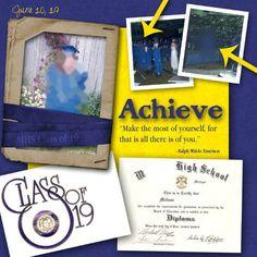 Digital: Achieve (Graduation Layout)