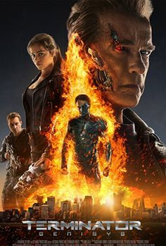 2D TERMINATOR GENISYS 07/2015 Great movie. I saw this today and due to a preview instructional video, a guy sitting next to me told me I was amazing in an amazing accent. That  was nice. : )