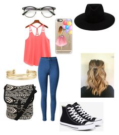 """""""Untitled #93"""" by chelseahymer ❤ liked on Polyvore featuring Converse, Casetify, Pilot, rag & bone and Stella & Dot"""